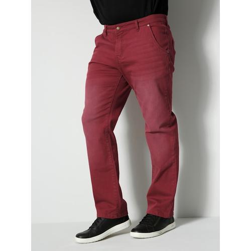Jeans Men Plus Bordeaux