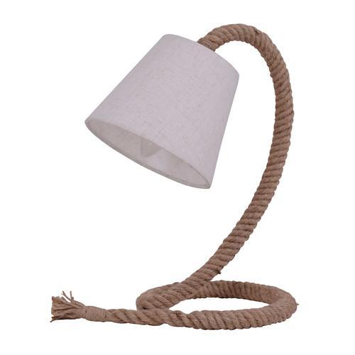 Tischleuchte 'Rope' Näve Weiß