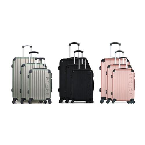 Koffer: 3er-Set Koffer/Khaki