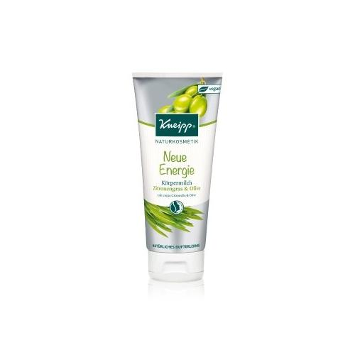 Kneipp Neue Energie Zitronengras & Olive Body Milk 200 ml