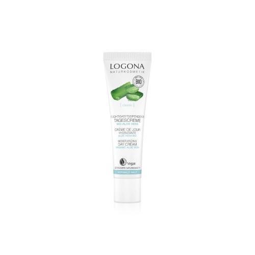 Logona Classic Feuchtigkeitsspendende Tagescreme Bio-Aloe Vera Tagescreme 30 ml