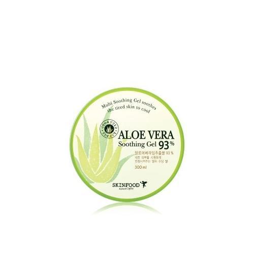 SKINFOOD Aloe Vera 93% Soothing Gel Gesichtsgel 300 ml