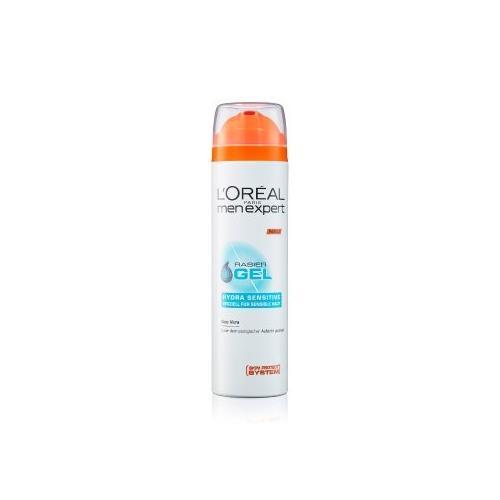 L'Oréal Men Expert Hydra Sensitive Rasiergel für sensible Haut Rasiergel 200 ml