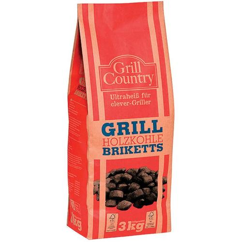 Profagus - Grill Country Grill Holzkohle Briketts für clever Griller 3000g