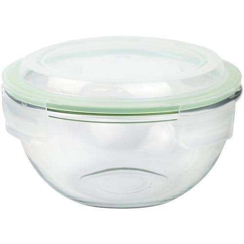 Glasslock Aufbewahrungsschüssel Plus, (1 tlg.) farblos Glasschüsseln Gläser Glaswaren Haushaltswaren