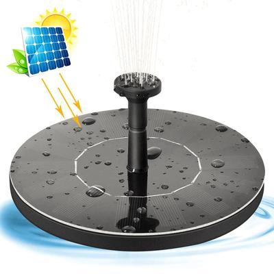 Fontaine à énergie solaire, pomp...