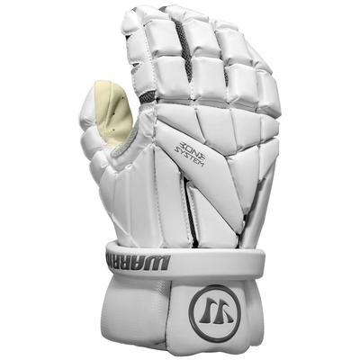Warrior Evo Men's Lacrosse Gloves White