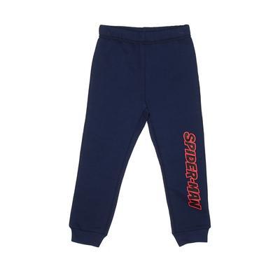 Spiderman Sweatpants - Elastic: Blue Sporting & Activewear - Size 3