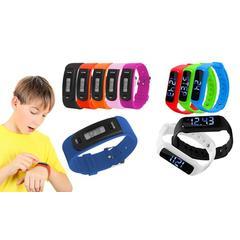Kids Fitness Tracker: AQ111/Black