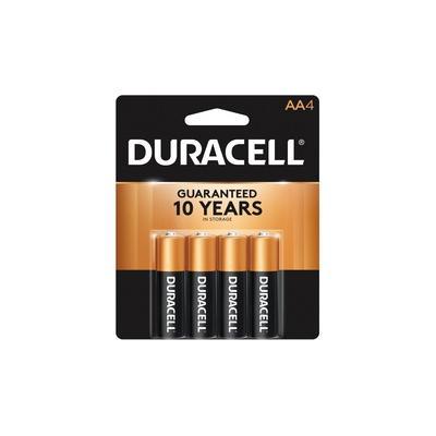 Duracell Coppertop Alkaline AA Battery - MN1500 - For Multipurpose - AA - 1.5 V DC - Alkaline - DURMN1500B4Z