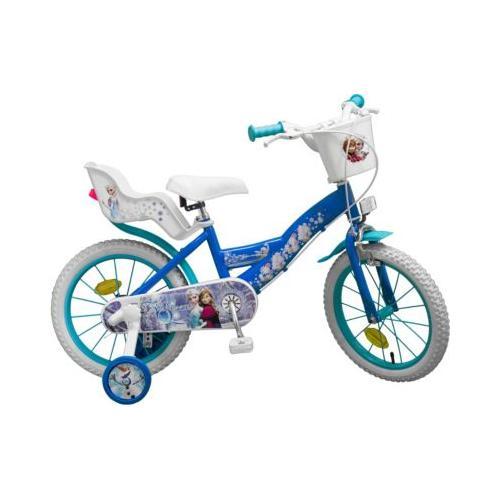 Fahrrad 16 Zoll Disney Eiskönigin blau/weiß