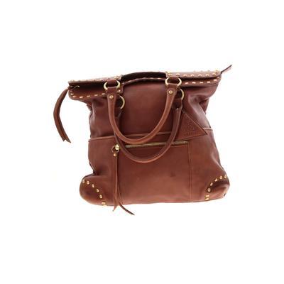 Sorial Satchel: Brown Solid Bags