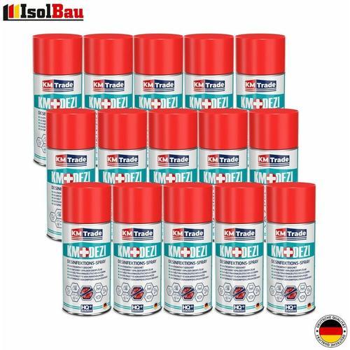 Desinfektionsmittel Händedesinfektion KM DEZI 15 x 150 ml Hautdesinfektion Spray