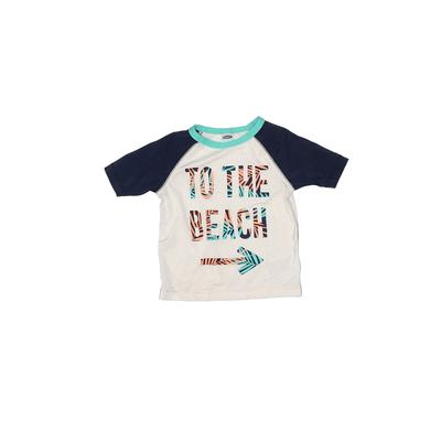 Old Navy Rash Guard: White Solid Sporting & Activewear - Size 18-24 Month
