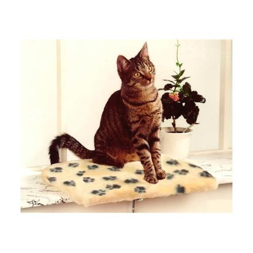 SILVIO design Katzenliege Fensterliege weiß Katzenkörbe -kissen Katze Tierbedarf