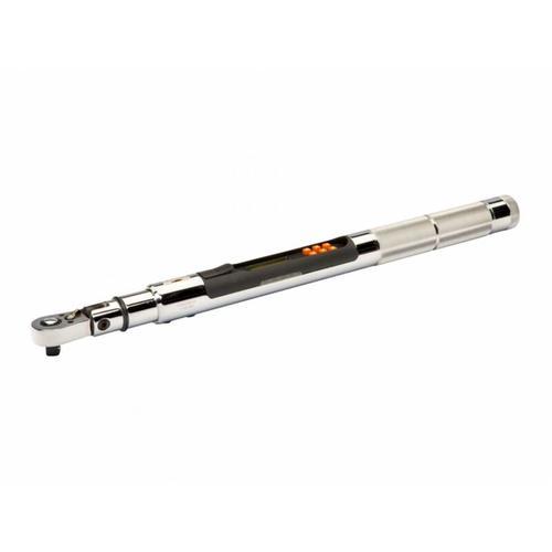 Elektronischer Drehwinkel-/Drehmomentschlüssel mit Speicherfunktion/USB und festem Knarrenkopf
