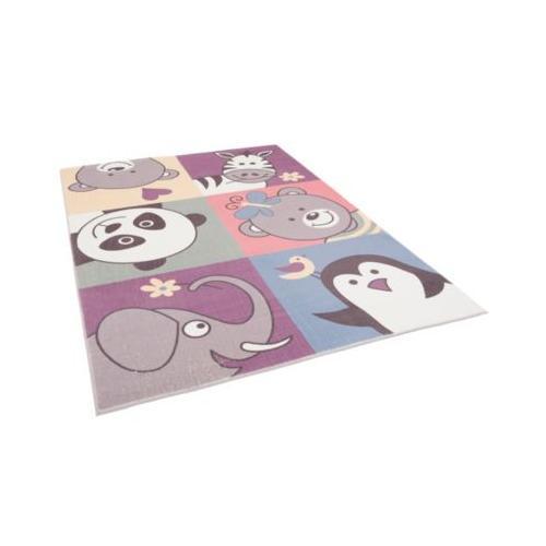 Fellteppich Plush Kids Lustige Tiere Teppiche bunt