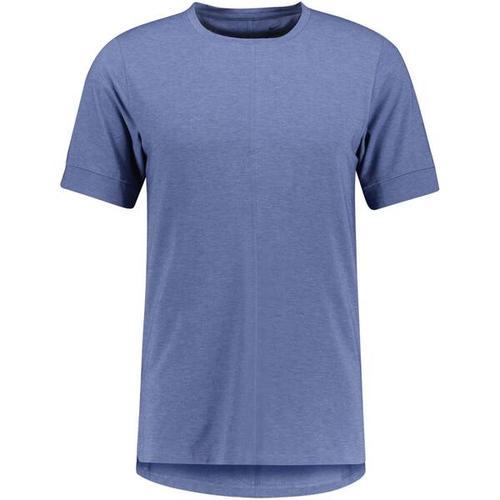 NIKE Herren Yoga T-Shirt Nike Yoga Dri-Fit, Größe XXL in Blau