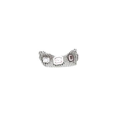 Moschino Watch: Silver Solid Accessories
