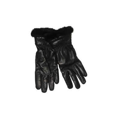 Wilsons Leather Gloves: Black Solid Accessories - Size Small