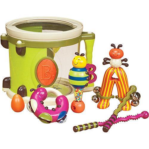 Parum Pum Pum Trommel mit 7 Instrumenten