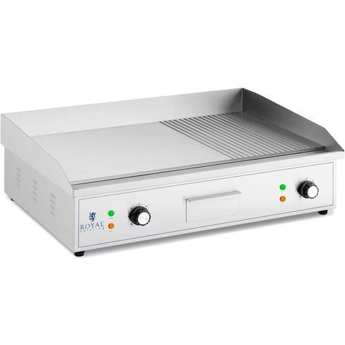 Elektro Grillplatte Grillplatte Elektro Grill 727 x 420 mm Flat 3.000 W