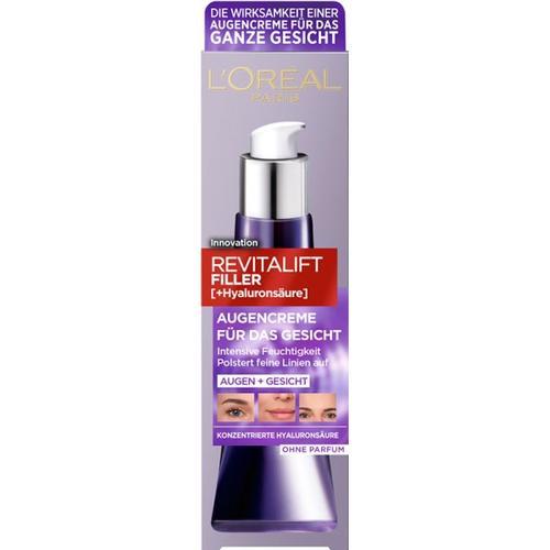 L'Oréal Paris Revitalift Filler Augencreme für das Gesicht Augencreme 30 ml