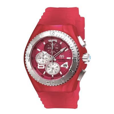 TR Women's TM-115107 Cruise JellyFish Quartz Pink Dial Watch