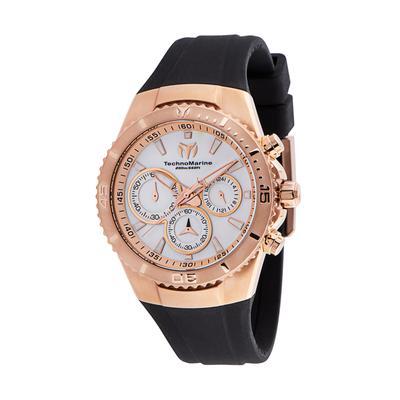 TechnoMarine Manta Sea Women's Watch w/ Mother of Pearl Dial - 40mm Black (TM-220075)