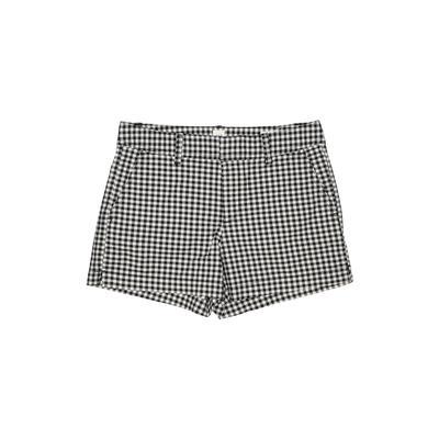 Gap Khaki Shorts: Black Print Bottoms - Size 2