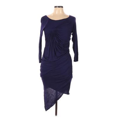 Karen Millen Casual Dress: Purple Solid Dresses - Used - Size 10