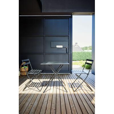 jankurtz Klapptisch fiam sirio, mit rechteckiger Tischplatte schwarz Campingmöbel Camping Schlafen Outdoor