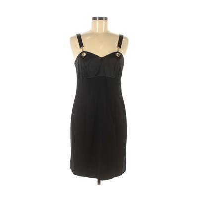 CDC Evening Cocktail Dress - Sheath: Black Solid Dresses - Used - Size 8