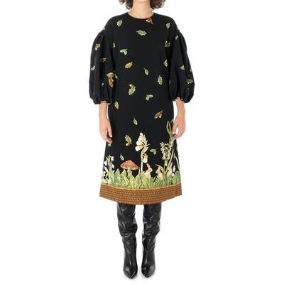 Dress Fancy Wood - Black - Vivetta Dresses