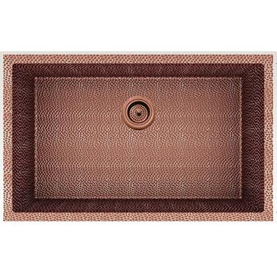 29-in. W CSA Approved Rose Copper Kitchen Sink With Copper Finish And 16 Gauge - American Imanginations AI-29175