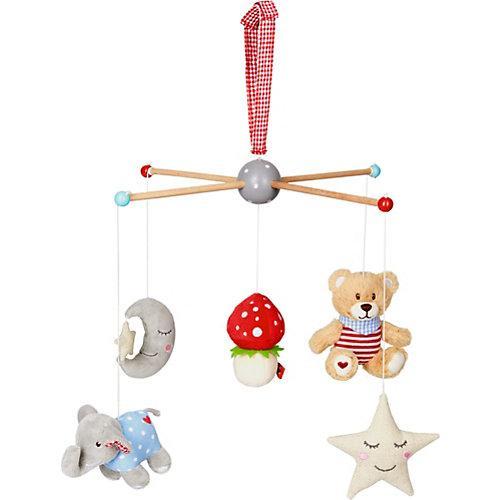 Mobile BabyGlück (mit Teddy, Pilz, Stern, ...)