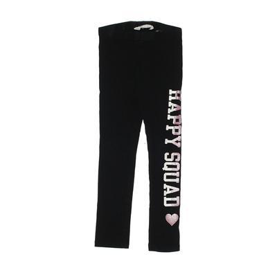 H&M Leggings: Black Solid Bottoms – Size 5
