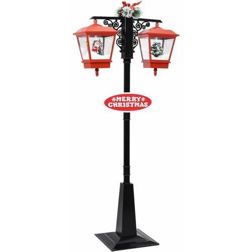 Vidaxl - Weihnachts-Straßenlampe mit Weihnachtsmann 81 x 40 x 188 cm PVC