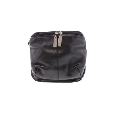 Hobo Bag International Leather Crossbody Bag: Black Solid Bags