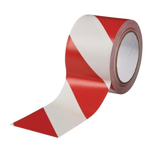 Bodenmarkierungsband Easy Tape PVC rot/weiß L.33m B.75mm Rl.ROCOL