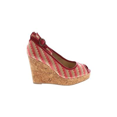 Joyfolie Wedges: Red Shoes - Size 10 1/2