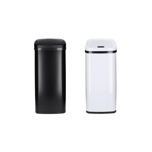 Mülleimer: Weiß / 50 Liter