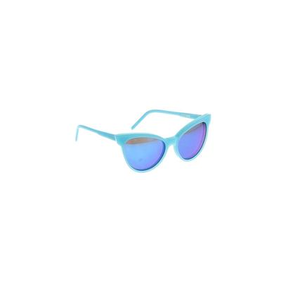 Wildfox Sunglasses: Blue Solid A...