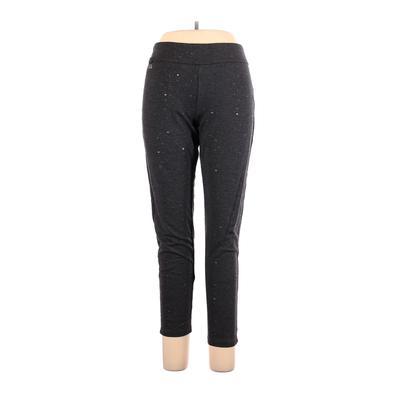 Lula b Casual Pants - High Rise: Gray Bottoms - Size X-Large
