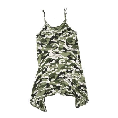 Flowers By Zoe Dress: Green Camo Skirts & Dresses - Used - Size X-Large