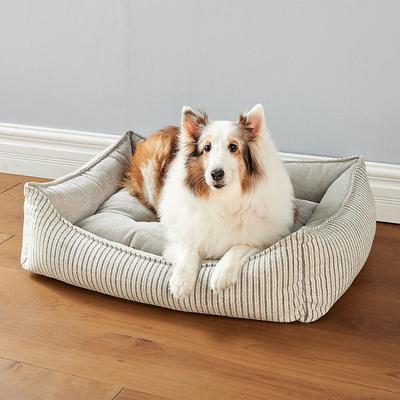 Scoop Pet Bed - Augusta Ticking,...