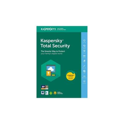 Kaspersky Total Security 2021 : 3 PC / 1 an