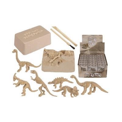 Kit éducatif archéologiques pour enfants Squelette de dinosaure Dig et Discover : 2