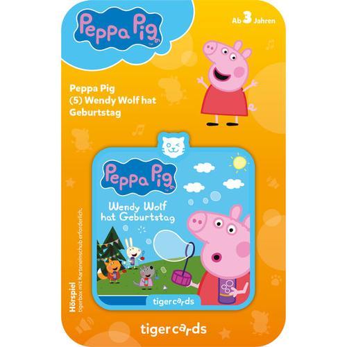 tigercard Peppa Pig: Wendy Wolf hat Geburtstag, bunt