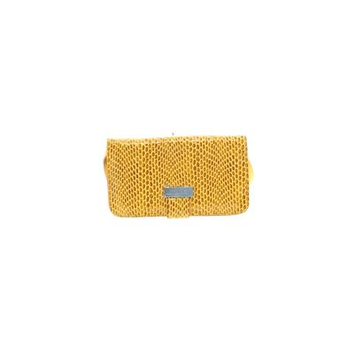 Sorial Leather Crossbody Bag: Yellow Solid Bags